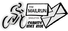 The Mailrun Charity Bike Ride Singleton
